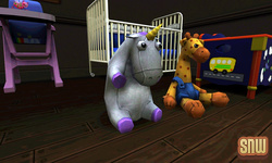The Sims 3 Pets: Unicorn Plushie