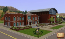 The Sims 3 Pets: Appaloosa Plains community lot