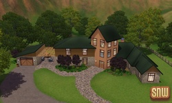 The Sims 3 Pets: Appaloosa Plains homes