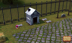The Sims 3 Pets: Appaloosa Plains Pet Cemetery