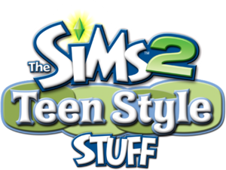 The Sims 2: Teen Style Stuff logo