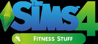 The Sims 4: Fitness Stuff logo