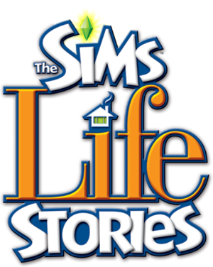 The Sims: Life Stories logo