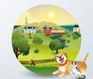 The Sims 4: Brindleton Bay world