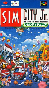 SIM City Jr packshot box art