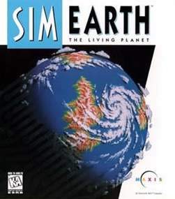 SimEarth Box Art Packshot