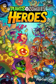 Plants vs. Zombies Heroes box art packshot