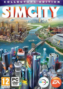 SimCity Collector's Edition box art packshot