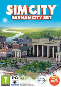 SimCity German City Set box art packshot