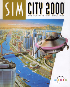 SimCity 2000 box art packshot