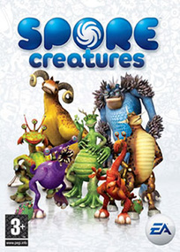 Spore Creatures for mobile phones box art packshot