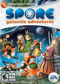 Spore: Galactic Adventures box art packshot