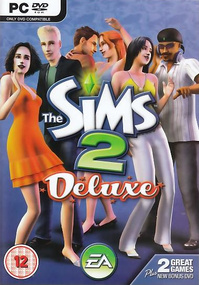 The Sims 2: Deluxe box art packshot