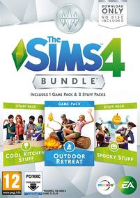 The Sims 4: Bundle Pack #2 Packshot Box Art