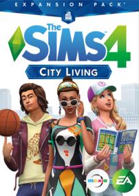 The Sims 4: City Living box art packshot