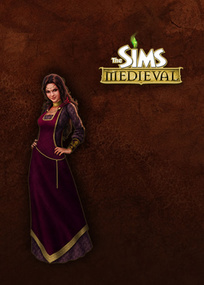 The Sims Medieval for mobile phones box art packshot