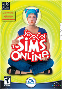 The Sims Online box art packshot
