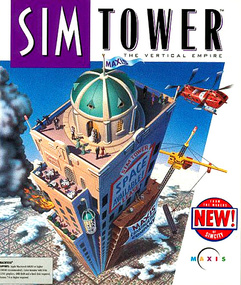 SimTower Sim Tower packshot box art