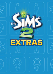 The Sims 2: Extras packshot box art