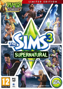 The Sims 3: Supernatural (Limited Edition) packshot box art
