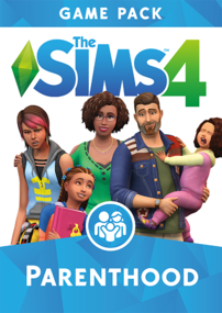 The Sims 4: Parenthood box art packshot