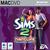 The Sims 2: Nightlife for Mac box art packshot jewel case