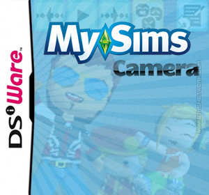 MySims Camera custom made box art packshot
