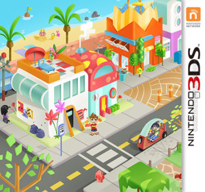 MySims Friends DS box art packshot made by Rosana