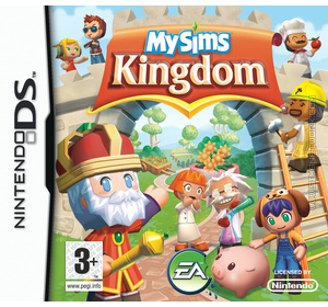 MySims Kingdom DS box art packshot