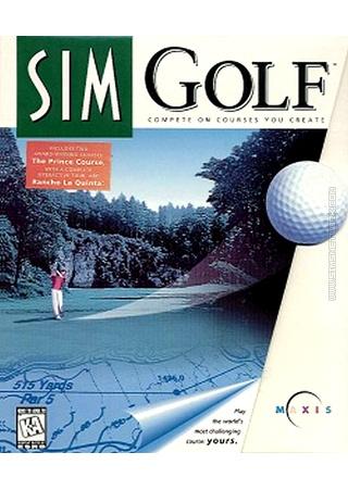 SimGolf Sim Golf packshot box art