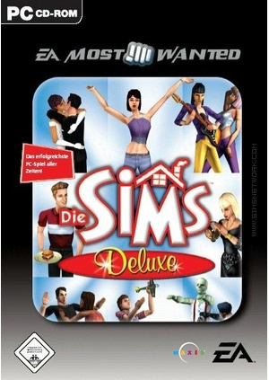 The Sims: Deluxe Edition (EA Most Wanted) box art packshot