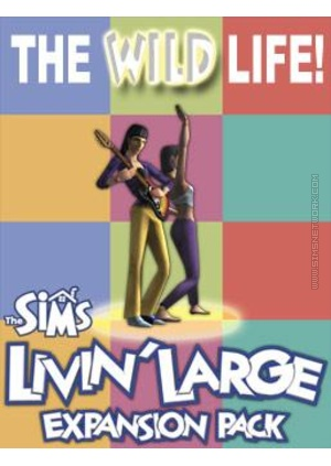 The Sims: Livin' Large for Mac box art packshot