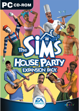 The Sims: House Party box art packshot