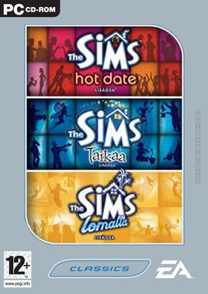 The Sims: Triplepack, volume two box art packshot