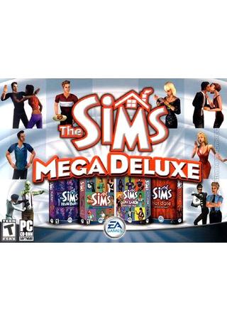 The Sims: Mega Deluxe box art packshot
