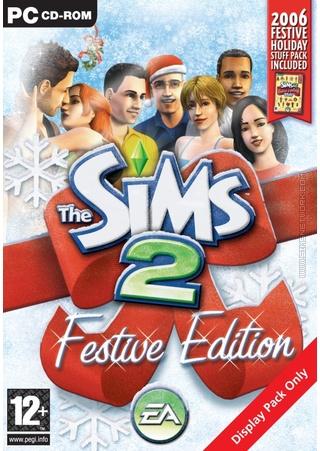 The Sims 2: Festive Edition (2006) box art packshot