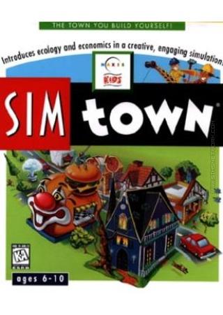 SimTown Sim Town packshot box art