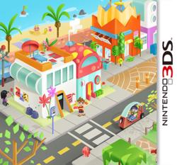 MySims Friends DS box art packshot made by Rosana