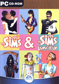 The Sims: Collector's Edition box art packshot