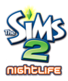 The Sims 2: Nightlife logo