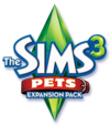 The Sims 3: Pets logo