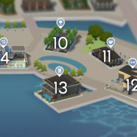 The Sims 4: Windenburg world neighbourhood #3