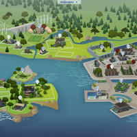The Sims 4: Windenburg world