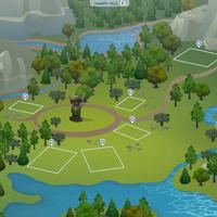The Sims 4 Granite Falls World Empty