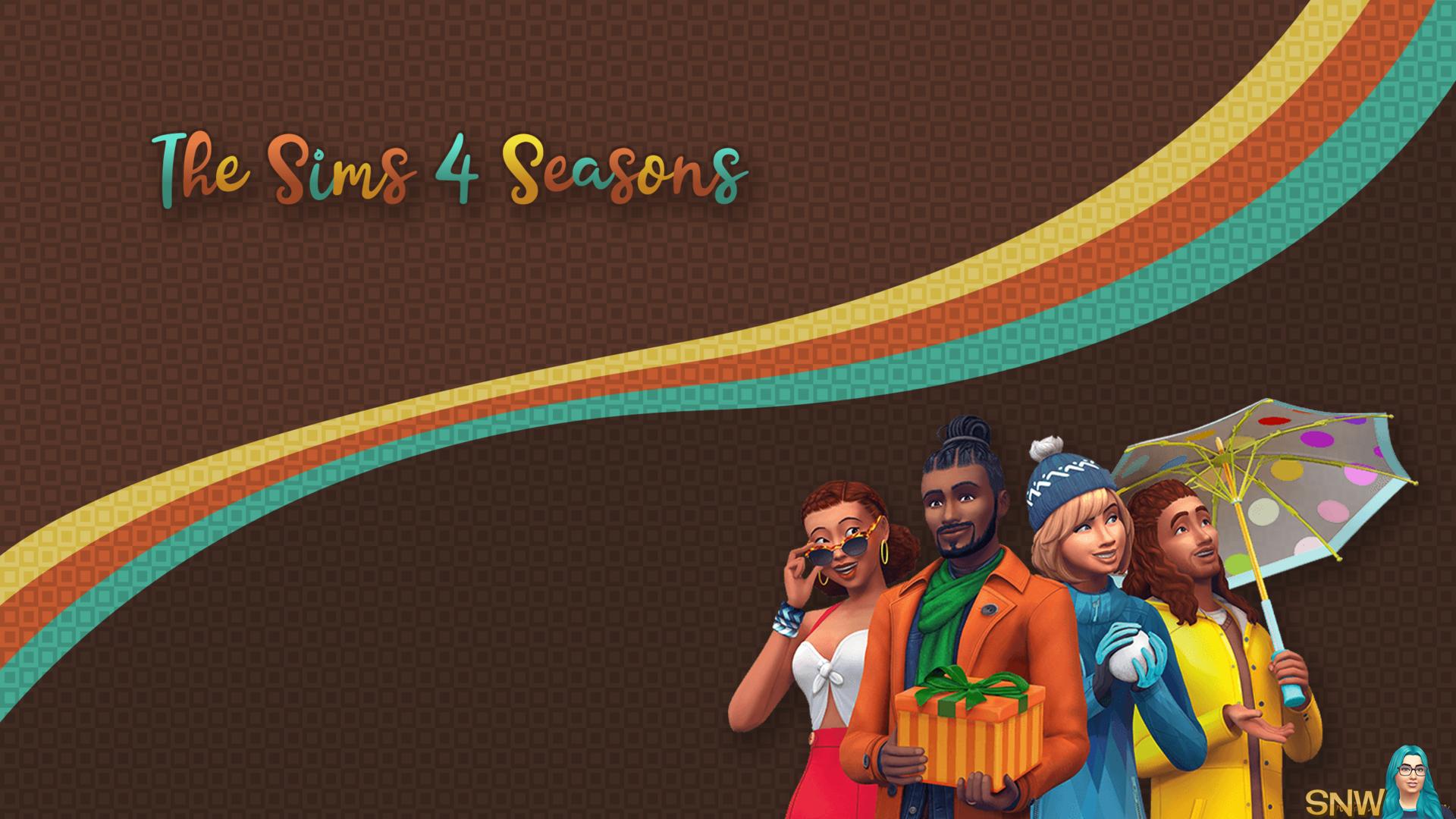 The Sims 4 Seasons Wallpaper Snw Mysimsnetworkcom