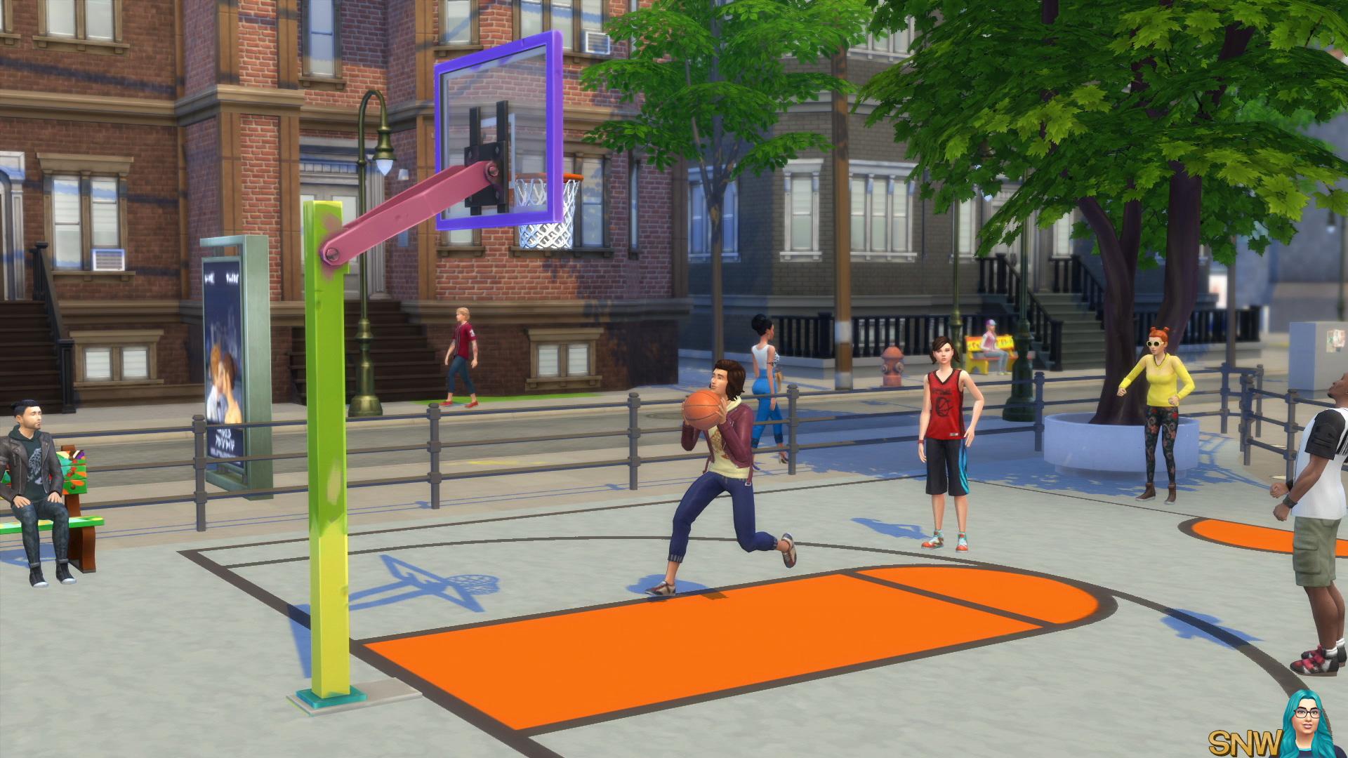The Sims 4: City Living screenshot