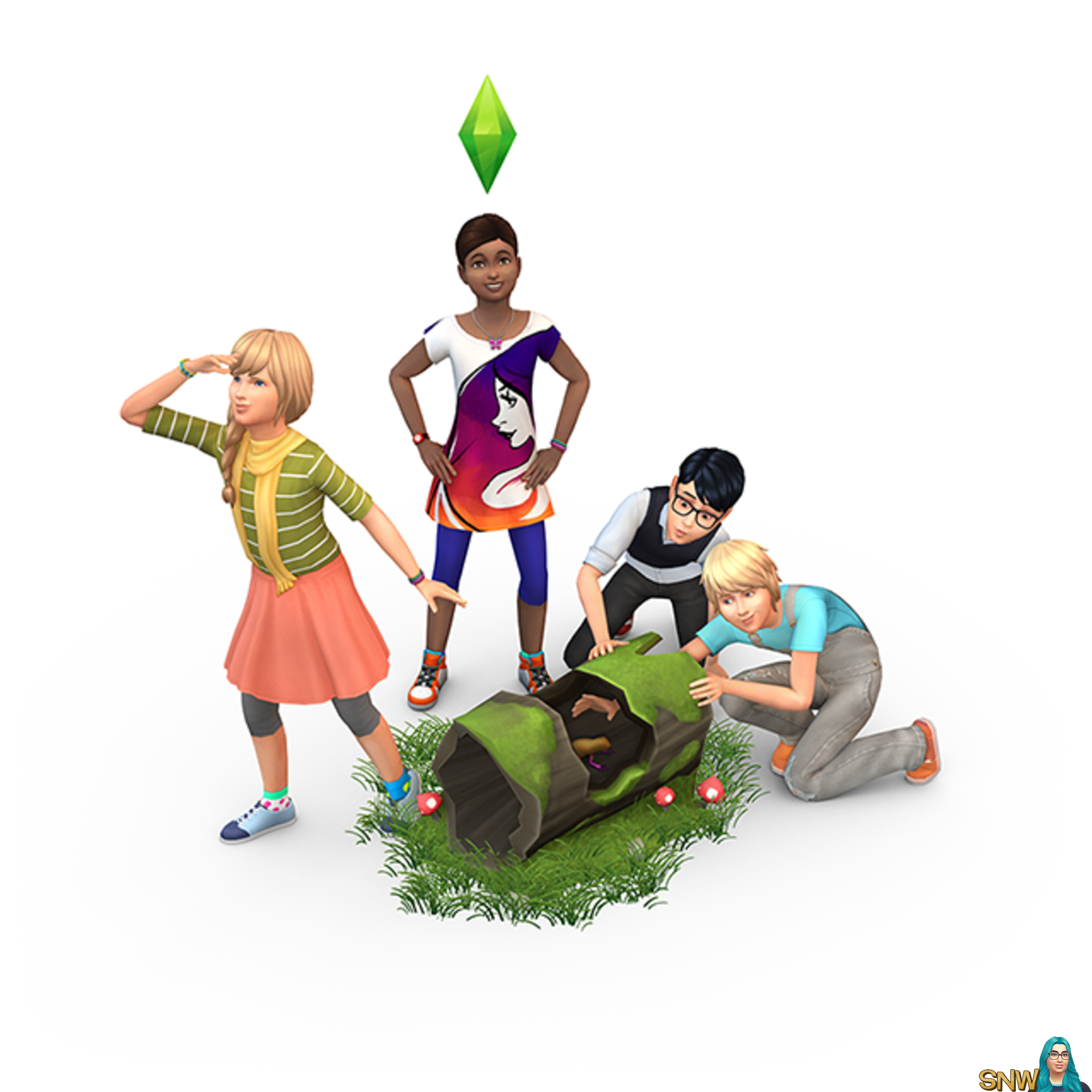 The Sims 4: Get Together render
